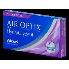 Air Optix plus HydraGlyde Multifocal - Контактні лінзи мультифокальні (місячної заміни)