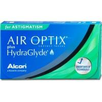 Air Optix plus HydraGlyde Astigmatism - Контактні лінзи торичні (місячної заміни)