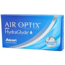 AIR OPTIX plus HydraGlyde - Контактні лінзи для далі (місячної заміни)