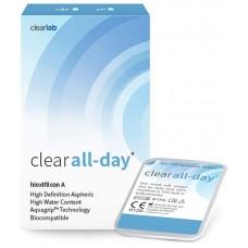 CLEAR ALL DAY - Контактні лінзи для далі (місячної заміни)