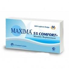 MAXIMA 55 Comfort Plus - Контактні лінзи для далі (місячної заміни)